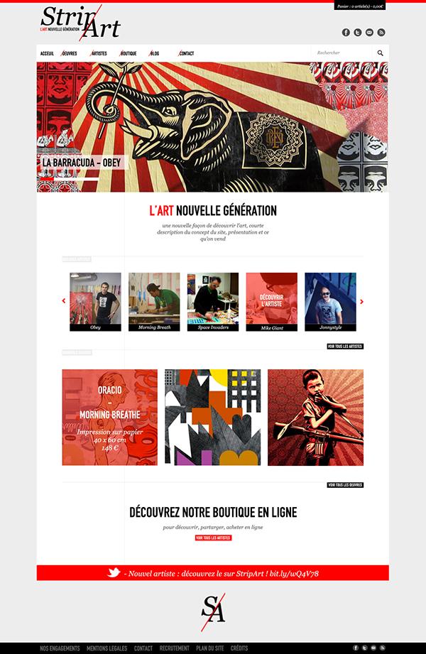 Stripart On Web Design Served