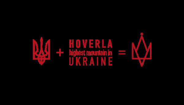 notebook book Hiker hiking sketchbook dzroman bird of Happiness blue red hand ua ukraine coat of arm graphic line