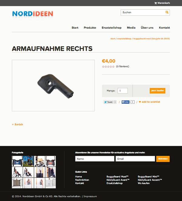 Business Catalyst e-commerce b2c Responsive Design