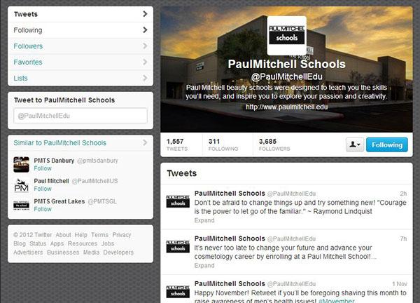Paul Mitchell Schools: Social Media Marketing on Behance