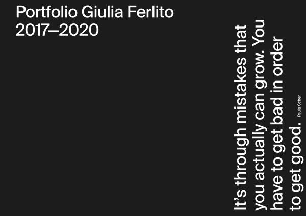Portfolio 2017—2020