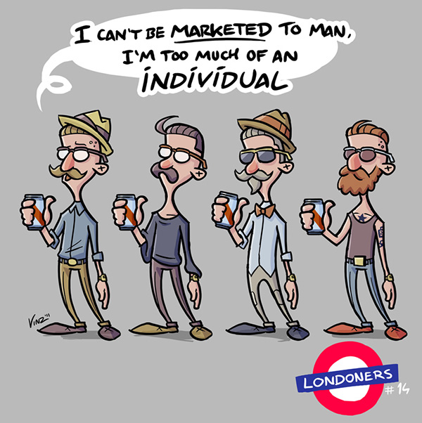 londoners vinzend mediamonks wetering London characters vincent