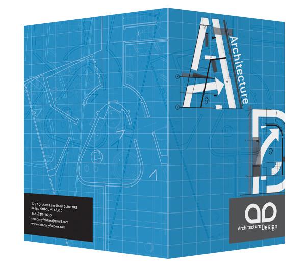 Free Template] Architect Presentation Folder Design on Behance