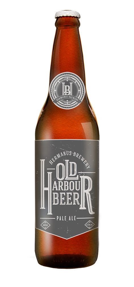 Craft Brewery Labels Hermanus Brewery Label