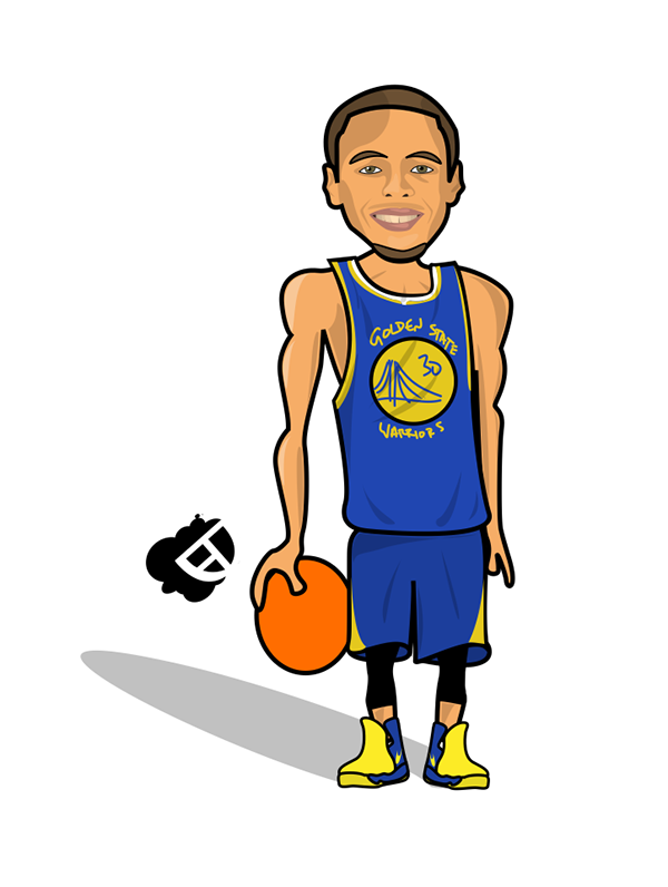 Steph Curry On Behance