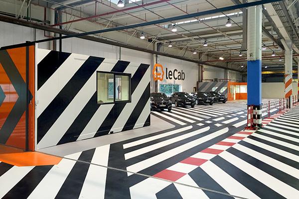 lecab garage on behance. Black Bedroom Furniture Sets. Home Design Ideas