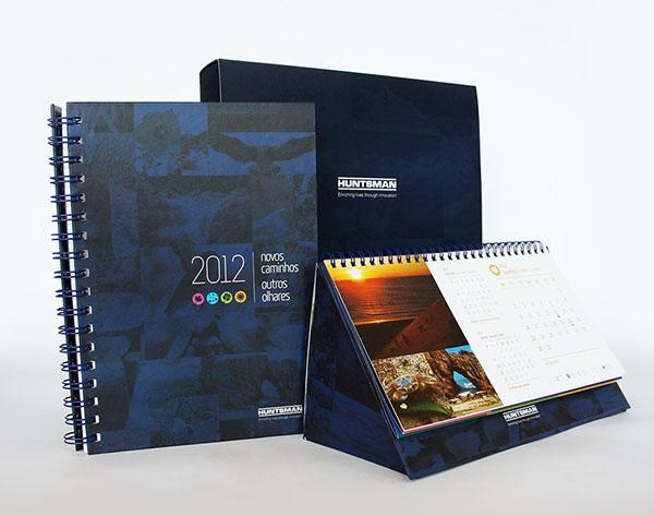 Corporate Calendar Design : Huntsman corporate kit on behance