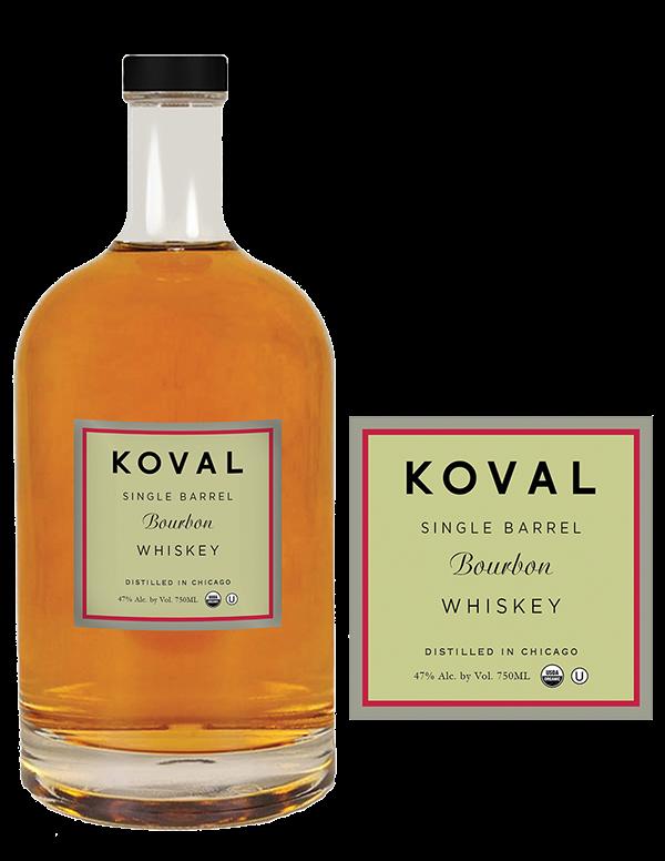 Original Koval Lion S Pride Whiskey Packaging