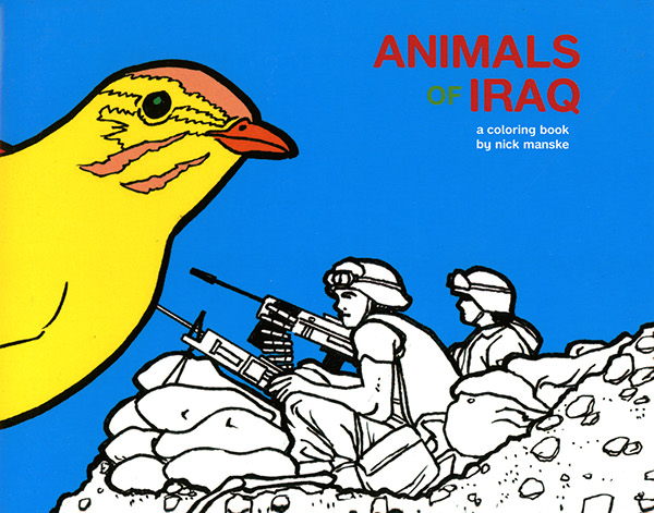 Animals of Iraq - Coloring Book on Behance