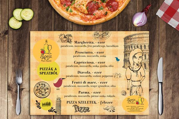 bistro menu restaurant Food  design menudesign flyer Flyer Design spejz drink card kormoscsaba