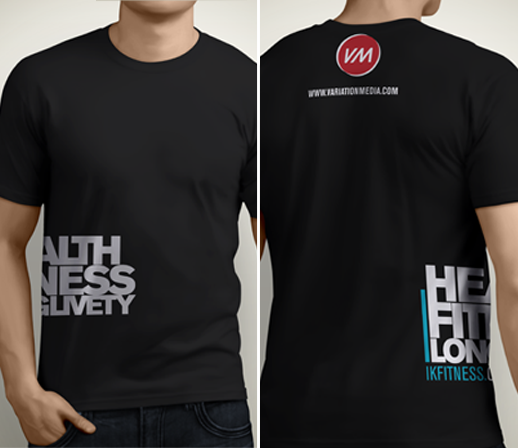 Ik fitness shirt design on behance for Design your own workout shirt