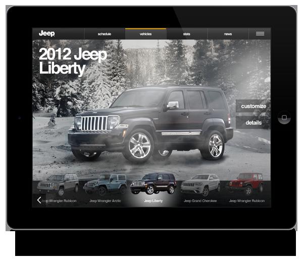 Jeep Sales App On Behance