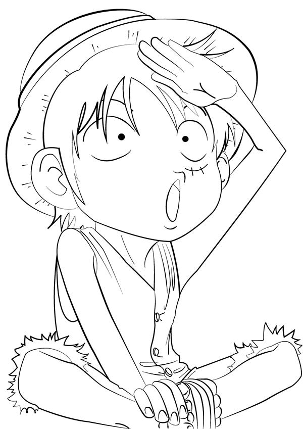 Chibi Monkey D Luffy On Behance