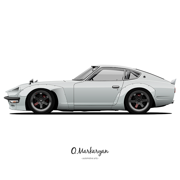 Datsun 240z 1973 Fuguz For Sung Kang On Behance
