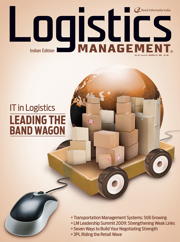 Art Direction for Logistics Management Magazine (2009) on Behance