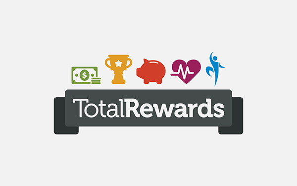 total rewards Total rewards encompasses six components — compensation, benefits, work-life effectiveness, recognition, performance management and talent development — that collectively define an organization's strategy to attract.
