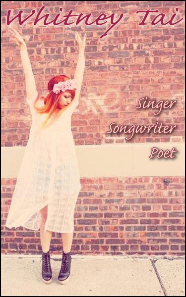 Singer songwriter poet
