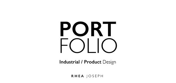 Industrial/Product Design Portfolio