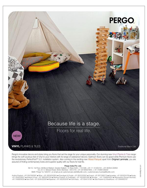 Magazine Ads Pergo On Behance