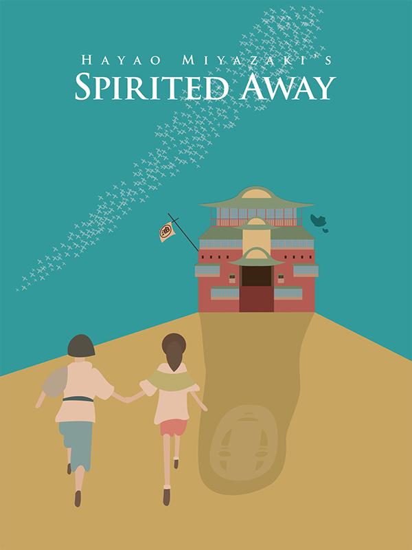 Spirited Away Poster Art on Behance