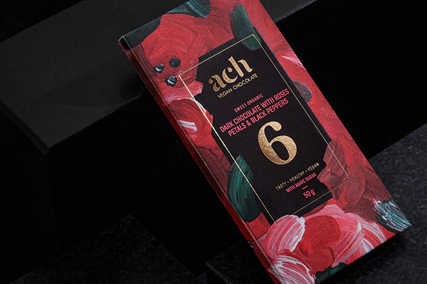 LA MUSE chocolate collection by Ach Vegan Chocolate