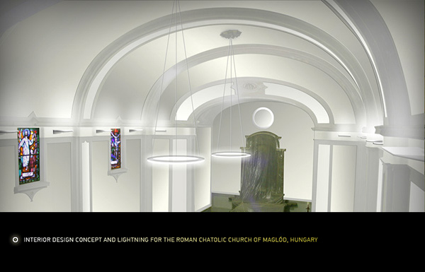 Interior Design Concept For Catholic Church Maglod On Behance