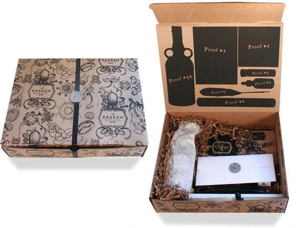 Kraken Rum Press Kits On Behance