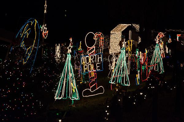 Marble Falls Christmas Lights.Marble Falls Texas On Behance