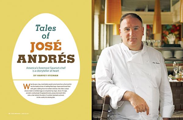 chef editorial magazine
