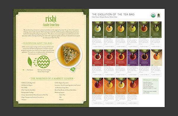 Catalog Design-Retail Tea Bag on Behance