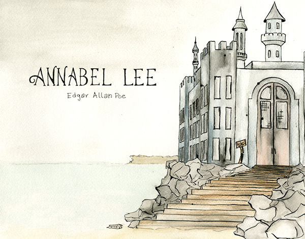 a review of edgar allan poes annabell lee The annotated poe by edgar allan poe (review) sean james kelly the edgar allan poe review, volume 17, number 1, spring 2016, pp 61-65 (review) published by penn state university press.