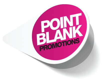 Point blank promotions on behance new look and logo for this promo and events company sciox Images