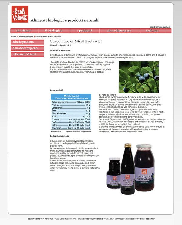 bio biologico bologna Baule Volante
