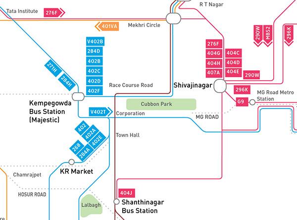bmtc bus route map Bangalore City Bus Route Map Design On Student Show bmtc bus route map