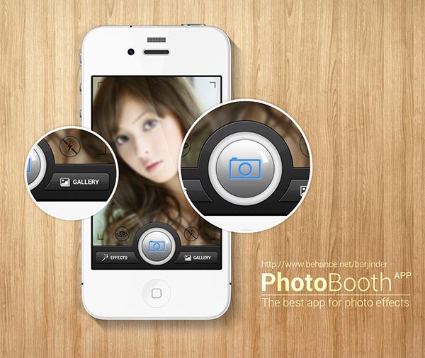PhotoBooth App on Behance