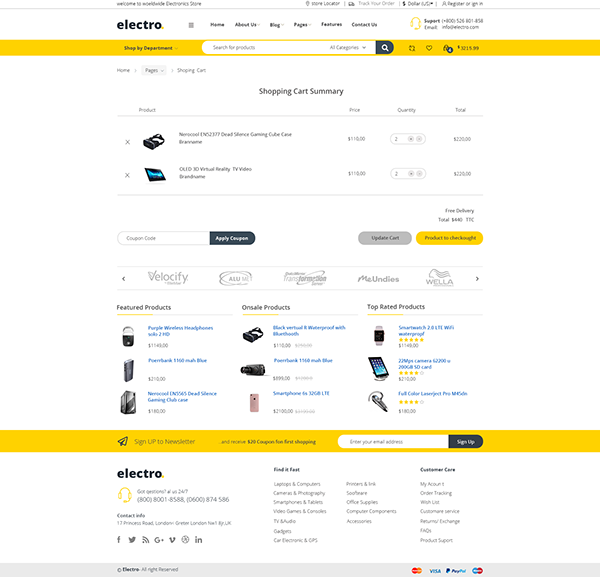 E-commerceWeb Ui desigin