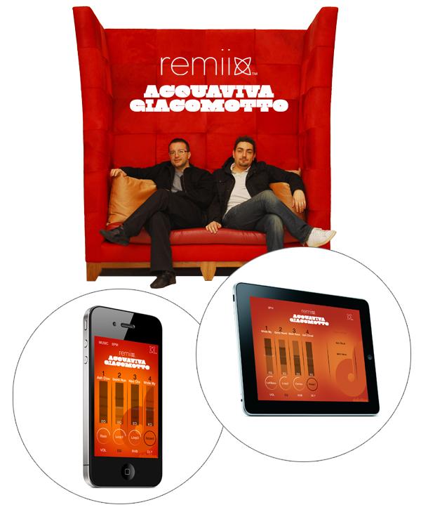 Remiix Liine richie hawtin Plastikman Dubfire Joris Voorn iphone iPad Griid app application minimal techno GUI user interface software