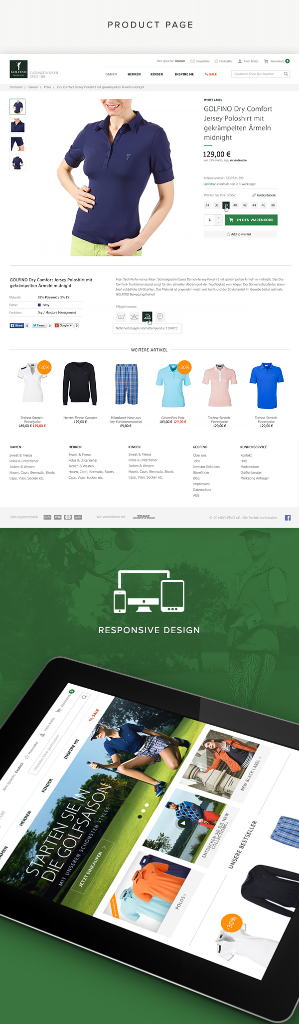 Golfino,Sportswear,golf,sport,Clothing,store,elegance,clean,online,e-commerce,shop,magento