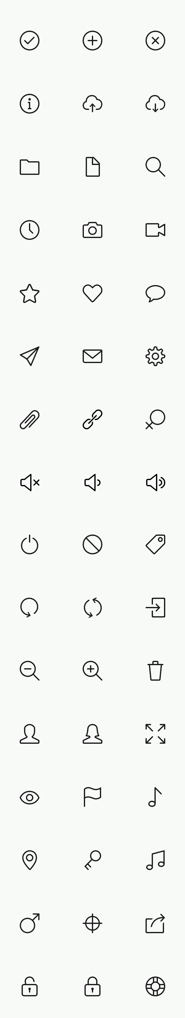 Icon stroke line iOS 7 simple psd freebie icons outline free