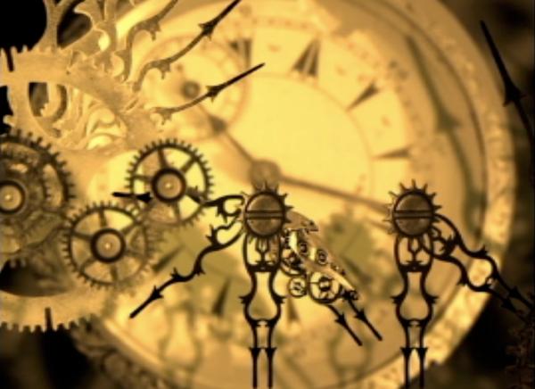 clock STEAMPUNK Gear clock parts aftereffects
