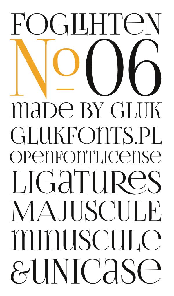 serif Free font  unicase