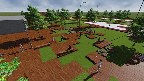 Cc ui arq urbana proyecto parque levedad 2014 2 on los for Programa de necesidades arquitectura