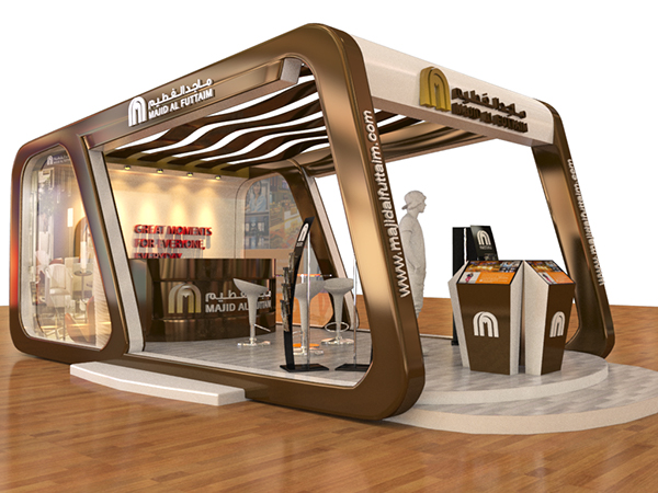 Exhibition Stand Job Vacancies : Majid al fottaim employment fair booth on behance