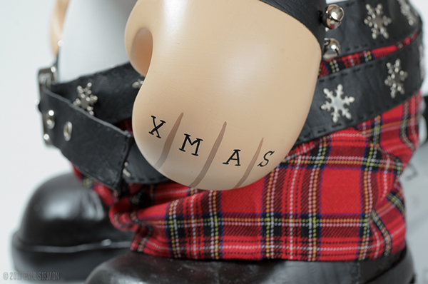 Munny santa St Nick lights Christmas winter Frosty friends Aaron Brothers Kid Robot