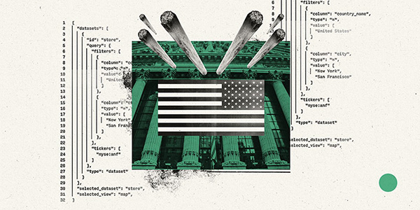 The Blooming Weed Industry   editorial illustrations on