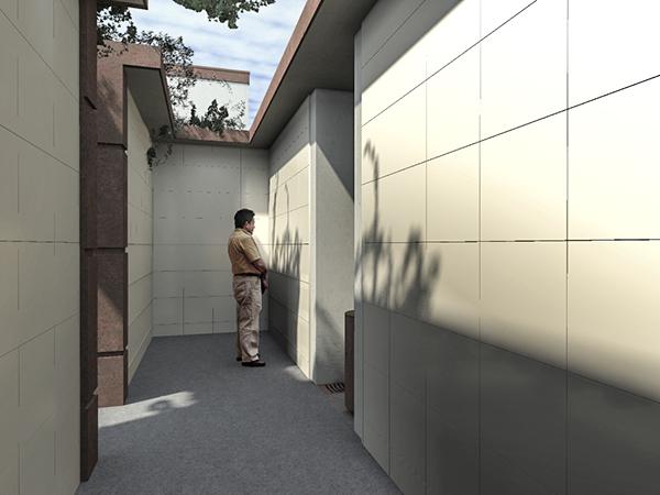 CG 3D Render rendering visualization exterior Landscape