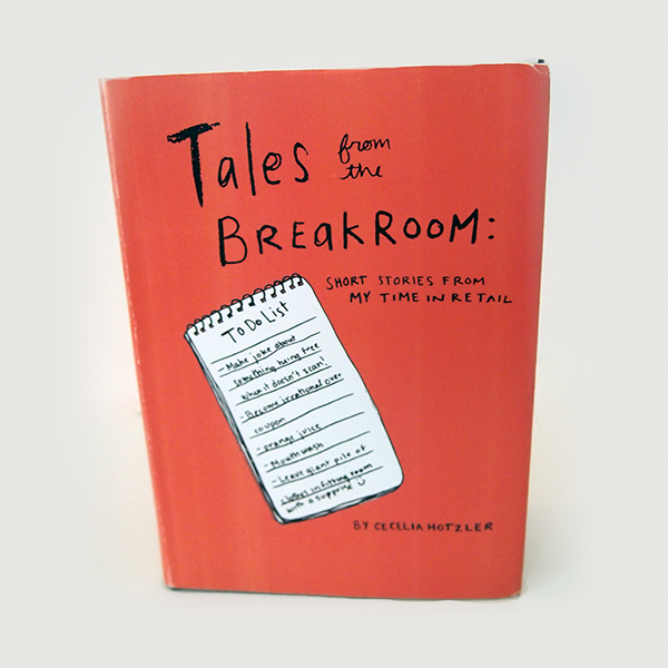 Tales from the break room book design on aiga member gallery for Only books design apartment 8