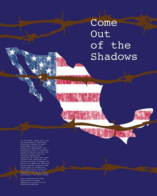 poster Immigration politics