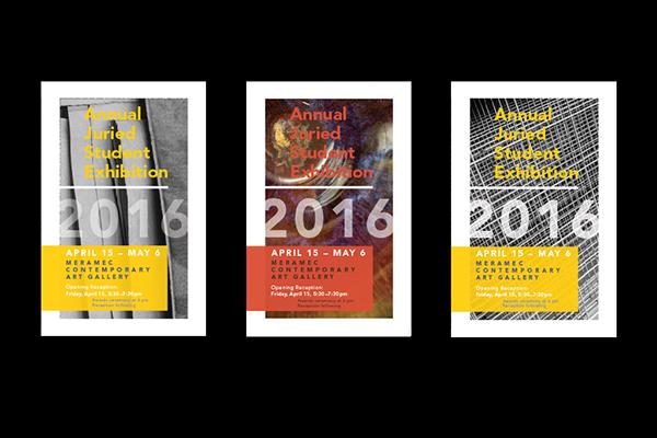 Student Art Show Posters On Scad Portfolios