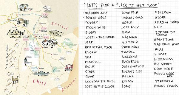 有美感的19套手繪地圖欣賞